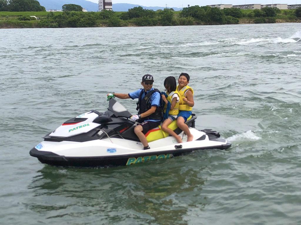 水上オートバイ